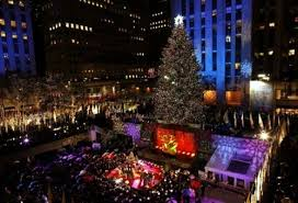 Tree Lighting New York City